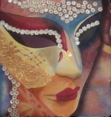 Celebration Mask Poster