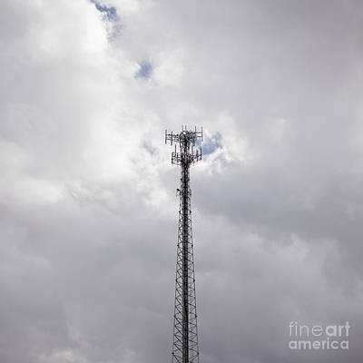 Cell Phone Tower Poster