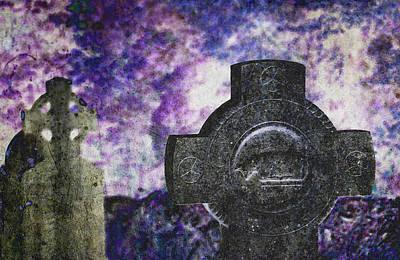 Celtic Cross. Glendalough. Ireland Poster