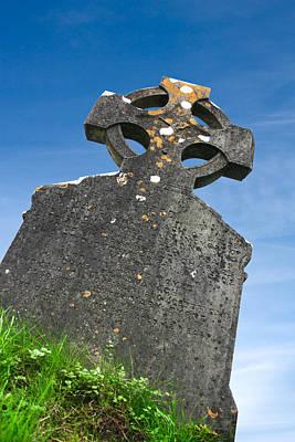 Celtic Grave Stone Poster