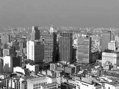 Centro De Sao Paulo Poster