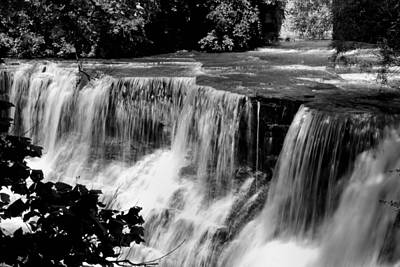 Poster featuring the photograph Chagrin Falls by Michelle Joseph-Long