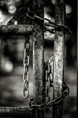 Chained In Poster by James Bull