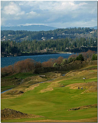 Chambers Bay Scenes Poster by Chris Anderson