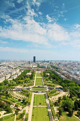 Champ De Mars Poster by Matthew Crowley Photography