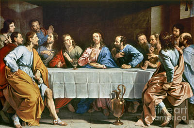Champaigne: Last Supper Poster by Granger