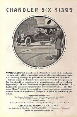 Chandler Model Six Touring Car Poster