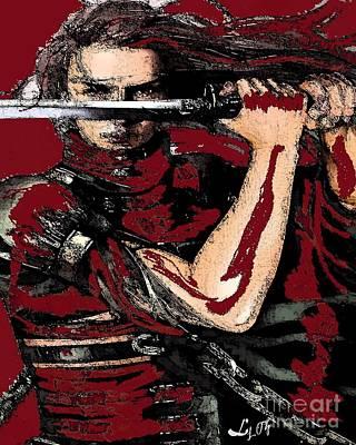 Chango Warrior Poster by Liz Loz
