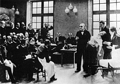 Charcot Demonstrating Hysterical Case Poster by Science Source