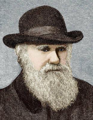 Charles Darwin, British Naturalist Poster