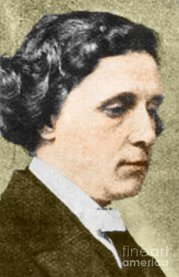 Charles Dodgson Aka Lewis Carroll Poster by Science Source