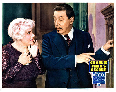 Charlie Chans Secret, From Left Poster