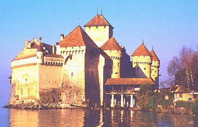 Chateau Chillon Poster