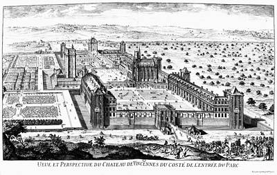 Chateau De Vincennes Poster by Granger