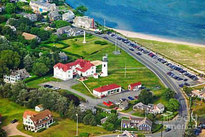 Chatham Lighthouse Cape Cod Massachusetts Poster