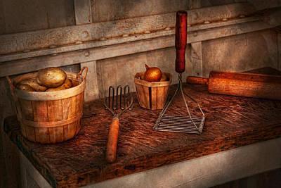 Chef - Food - Equipment For Making Latkes Poster