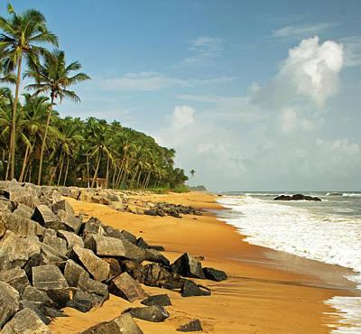 Chembarika Beach, Kasargod Poster by Rajesh Vijayarajan Photography
