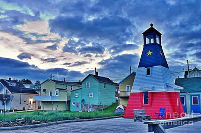 Cheticamp In Cape Breton Nova Scotia Poster