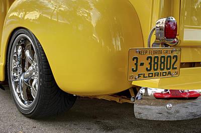 Chevy 4. Miami Poster by Juan Carlos Ferro Duque
