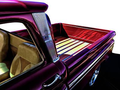 Chevy Custom Truckbed Poster by Douglas Pittman