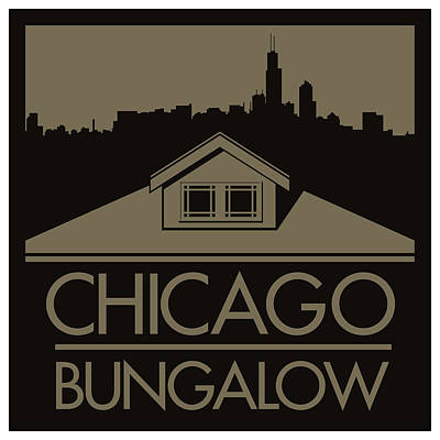 Chicago Bungalow Poster
