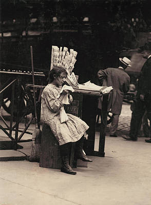 Child Labor, Minnie Paster, 10 Years Poster