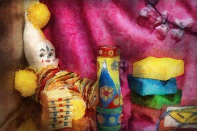 Children - Toy - Earliest Childhood Memories Poster