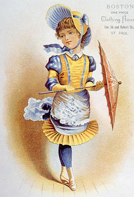 Childrens Fashion, Circa 1890 Poster