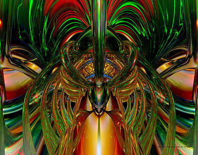 Chinese Dragon Smile N Symmetry Fx  Poster
