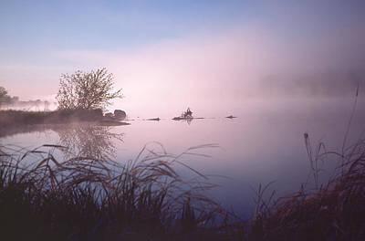 Chippewa River At Dawn Poster