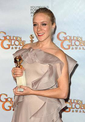 Chloe Sevigny In The Press Room For The Poster by Everett