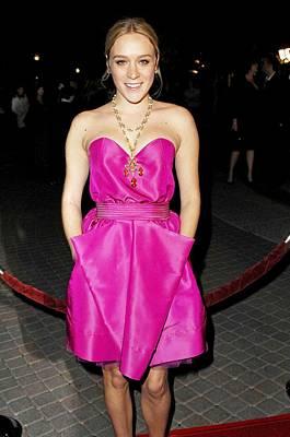 Chloe Sevigny Wearing A Luella Dress Poster by Everett