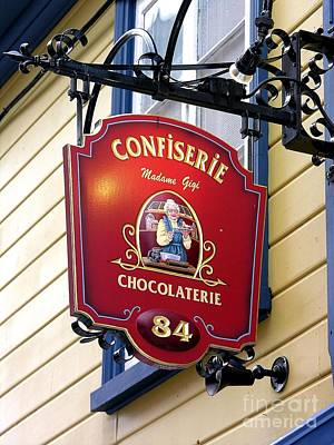 Chocolate Poster by Anne Gordon