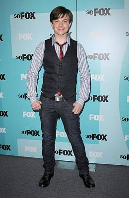 Chris Colfer At Arrivals For Fox Poster by Everett