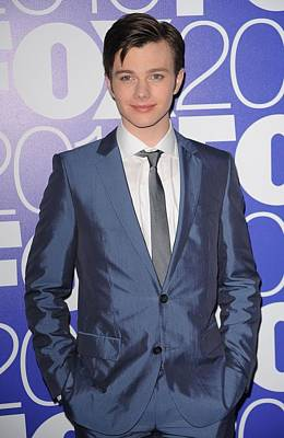 Chris Colfer In Attendance For Fox 2010 Poster by Everett