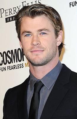 Chris Hemsworth At Arrivals Poster by Everett