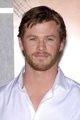 Chris Hemsworth At Arrivals For The Poster