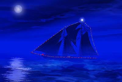 Christmas At Sea Poster