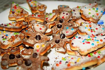 Christmas Cookies Poster by Emanuel Tanjala