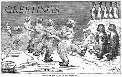 Christmas: Polar Bears Poster