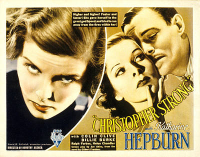 Christopher Strong, Katharine Hepburn Poster by Everett