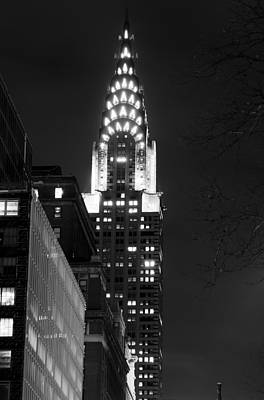 Poster featuring the photograph Chrysler Building by Michael Dorn