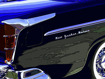 Chrysler New Yorker Deluxe Poster by Samuel Sheats