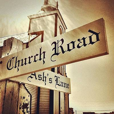 Church Road Poster by Christopher Campbell