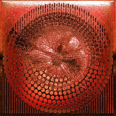 Circle1975-enhanced-red Poster