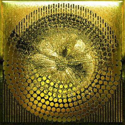 Circle1975-enhanced-yellow Poster
