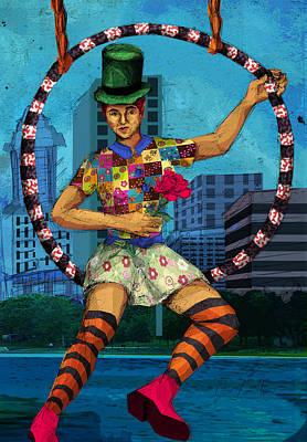 Circus Portland Poster by Hampton Rodriguez