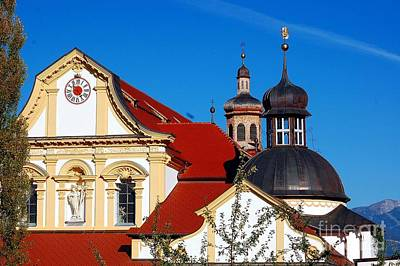 Cistercian's Basilica In Austrian Tyrol Poster