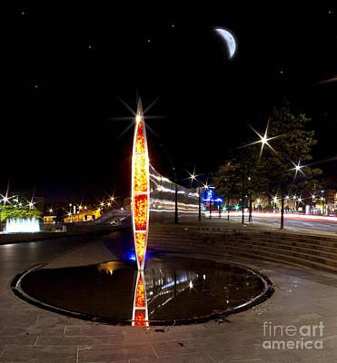 City Lights Poster by Nigel Hatton