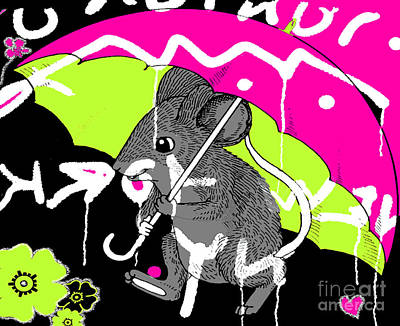 City Mouse Baby Juvenile Licensing Art Poster by Anahi DeCanio